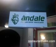 Eingang Andale Restaurant Ulm