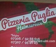 Speisekarte Pizzeria Puglia Vöhringen